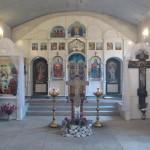 Храм Святой Троицы внутри